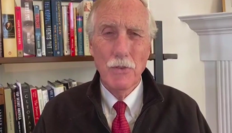 Sen. Angus King shares healthcare security takeaways from Cyberspace Solarium Commission
